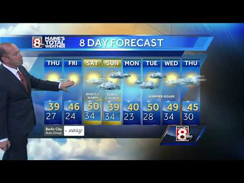 Rain ends with clearing skies overnight