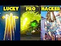 LUCKY vs PRO vs HACKER - Overwatch Pro + Funny Moments #25