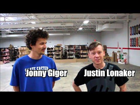 Game of skate | Justin Lonaker vs. Jonny Giger