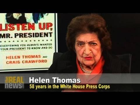Helen Thomas on Feminism