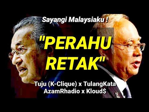 Free Download Tuju (k-clique) - Perahu Retak (feat. Tulangkata, Azamrhadio, Kloud$) Mp3 dan Mp4