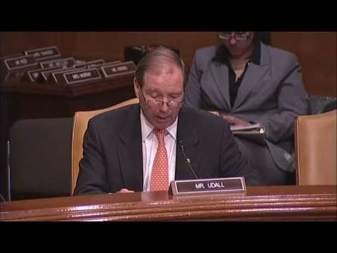 Tom Questions NNSA Officials @ Senate Energy & Water Development Appropriations Hearing