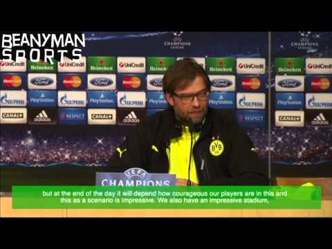 Jurgen Klopp - My Players Must Be Courageous Against Real Madrid