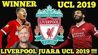 Liverpool Juara Ucl 2019 Final Liverpool 2 0 Tottenham Youtube
