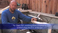 Pond Plumbing, how to Tips & Tricks