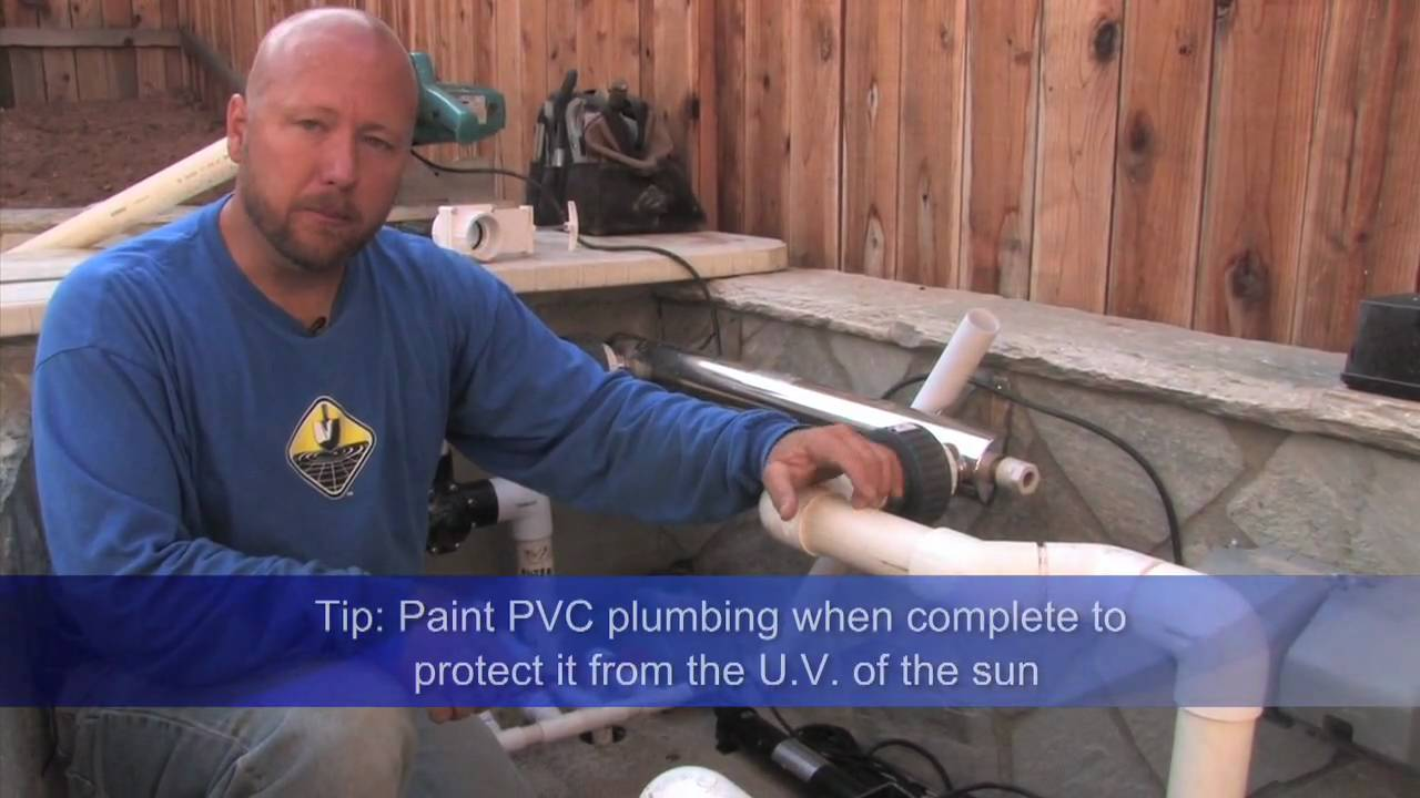 Pond Plumbing How To Tips Amp Tricks Doovi