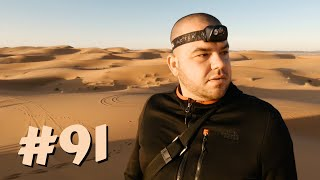 #91 Przez Świat na Fazie - Noc na Saharze | Maroko, Merzouga