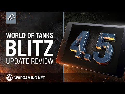 World of Tanks Blitz. Update 4.5 Review
