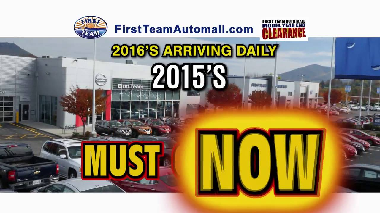 First Team Auto Mall >> First Team Auto Mall Model Year End Clearance Sale This November 2015