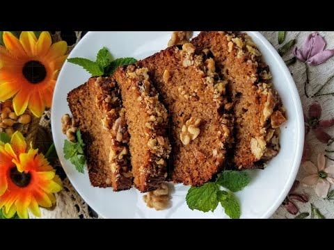 honey-cake-and-muffins-with-walnuts-🍯-Медівник-і-медові-кекси