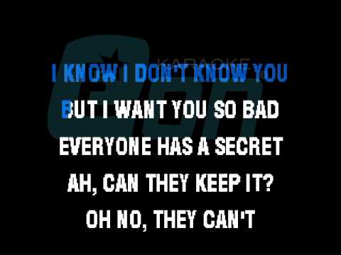 Maroon 5 Secret Eon karaoke demo