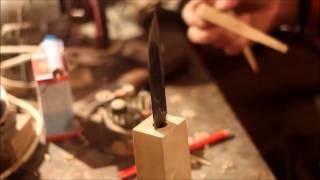 Делаем рукоять для якутского ножа.