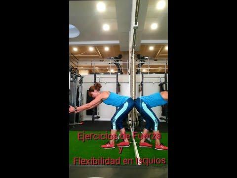Fuerza y Flexibilidad para Isquios