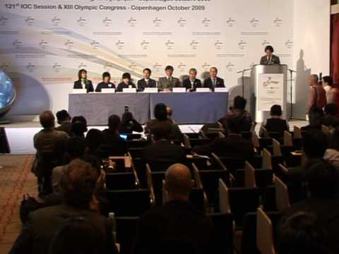 Tokyo lobbies IOC for Olympic bid