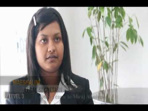 Legal Secretary Course: MIRAJ the Pioneer