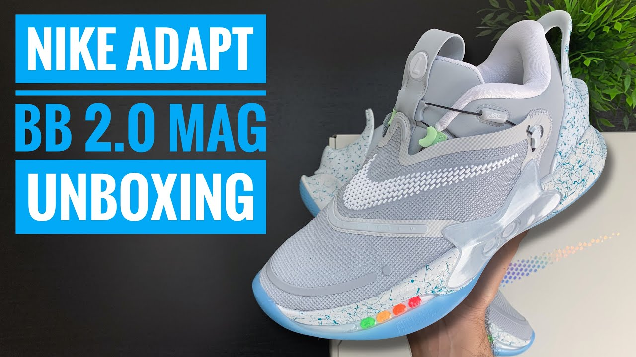 Nike Adapt Bb 2 0 Mag Unboxing 4k Sneaker Therapy Youtube