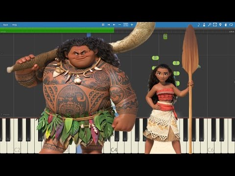 Alessia Cara - How Far I'll Go - Piano Tutorial - Disney's Moana Soundtrack