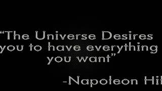 Earl Nightingale -THe Universe Desire you to have everything you want