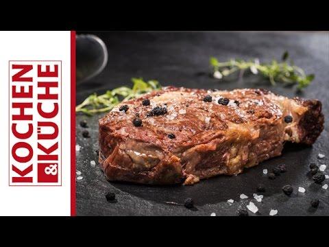 Rib Eye Steak grillen | Kochen und Küche
