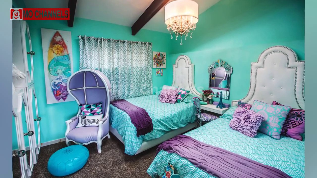 best 30 blue and green bedroom decorating ideas 2017 - youtube