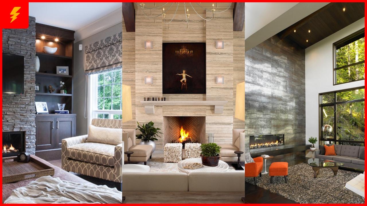 stunning design ideas for fireplace wall  youtube - stunning design ideas for fireplace wall