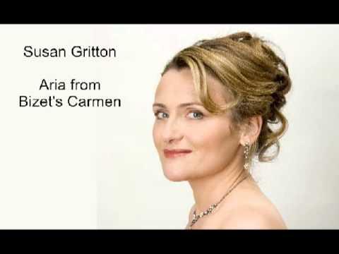 Susan Gritton sings Micaela's aria, Je dis que rien ne m'epouvante, from Bizet's Carmen