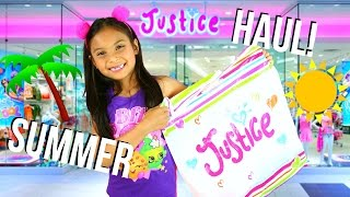 JUSTICE Summer 2016 ~ Kids Shopping Haul