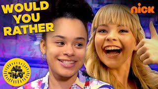 The All That Cast Plays Would You Rather! | All This On All That Ep.1 | All That