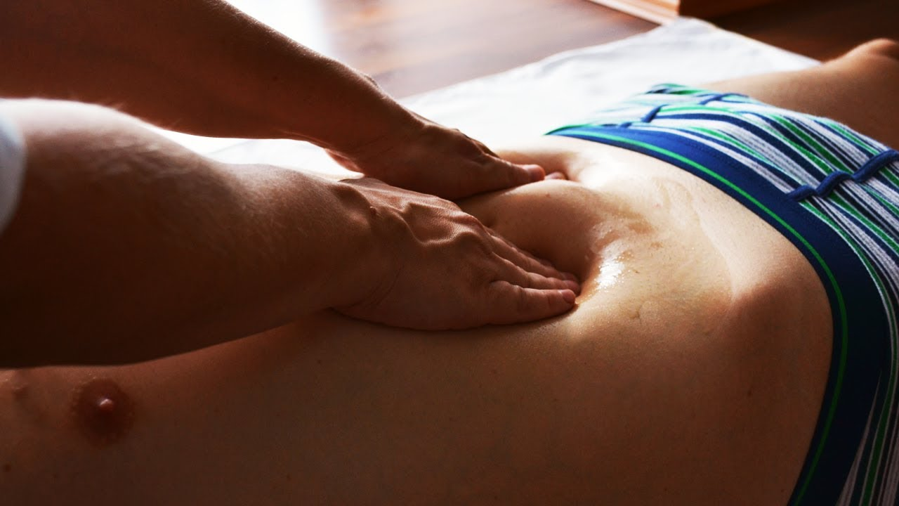 Relaxing MASSAGE of Abdominal  RESTART of STOMACH  YouTube