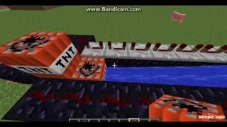 minecraft nasıl yapılır #2 tnt atar