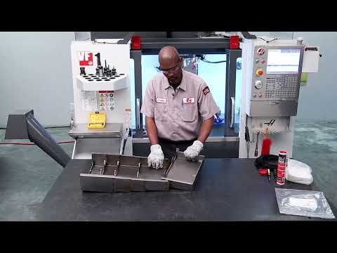 X-Axis Mill Waycover Replacement - Haas Automation Service