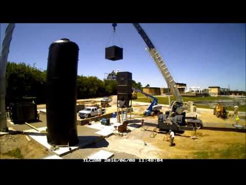 Lebanon Waste to Energy Plant Construction Video as of 7 26 16