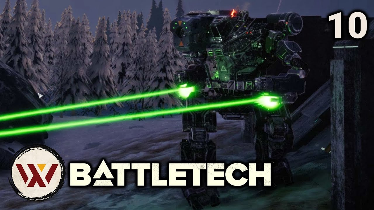 Liberation: Panzyr (spoiler) - #10 BATTLETECH Let's Play Campaign Gameplay