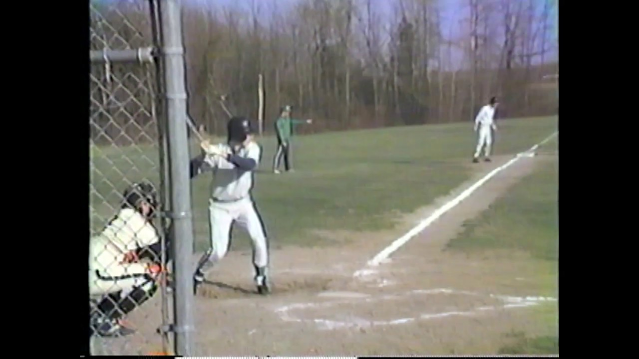 Chazy - Crown Point Baseball  4-22-86