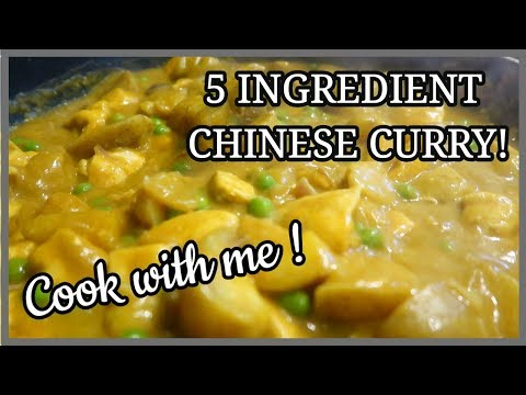 EASY CHINESE CURRY RECIPE ~ COOK WITH ME #1