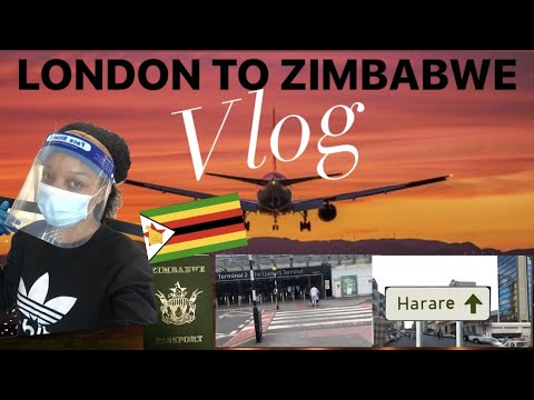London To Zimbabwe/ Quarantine Vlog/ Zimbabweans Don't Know Winter?