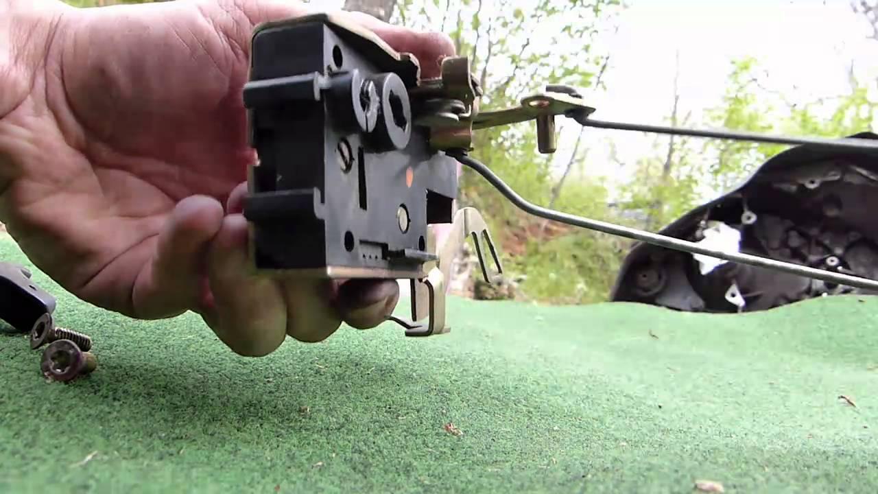 Comment Démonter Le Mécanisme Du0027ouverture De Porte Sur Citroën AX - YouTube