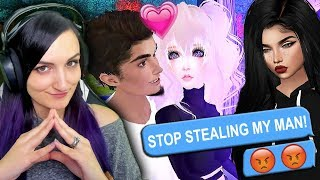 STEALING BOYFRIENDS ON IMVU (Weird Online Dating Game)