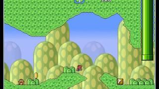 Let's Play (Blind) Super Mario Brox X #1 HD