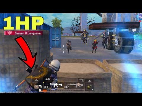 Best  Solo Vs Squad Hack Strategy To Win Against Pro Squads | PUBG MOBILE