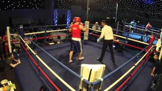 Ultra White Collar Boxing Leeds   Ring 2 Fight 15