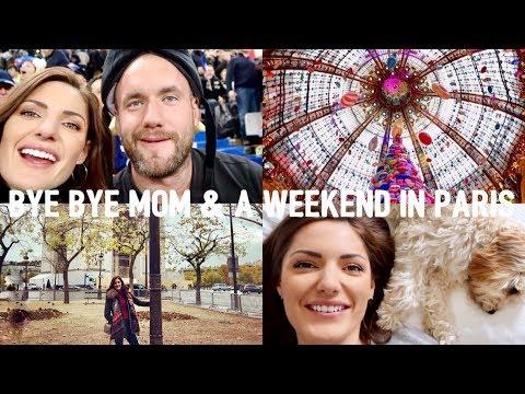 BYE BYE MOM & A WEEKEND IN PARIS | VLOG | JAMIE GOURDON