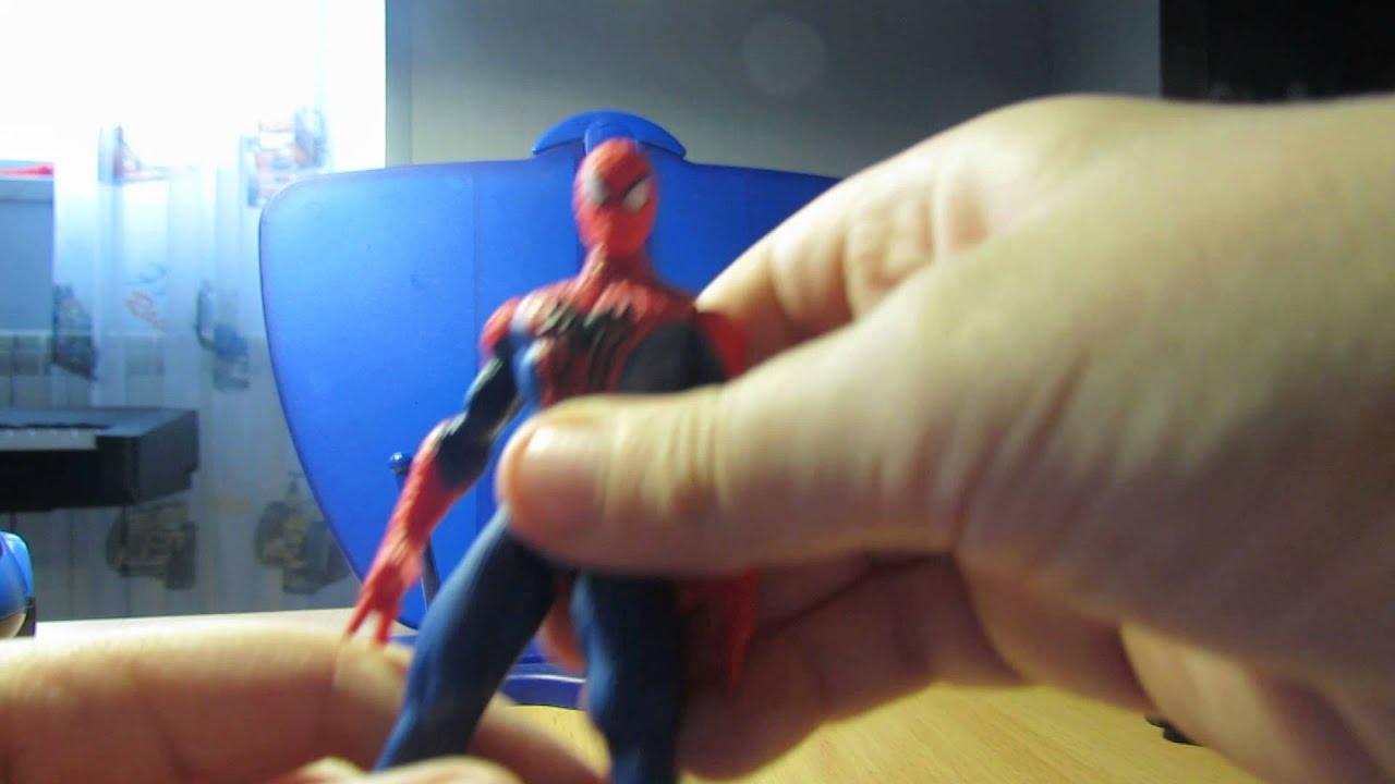 Обзор игрушек человек-паук