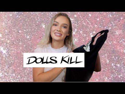 DOLLSKILL TRY ON CLOTHING HAUL