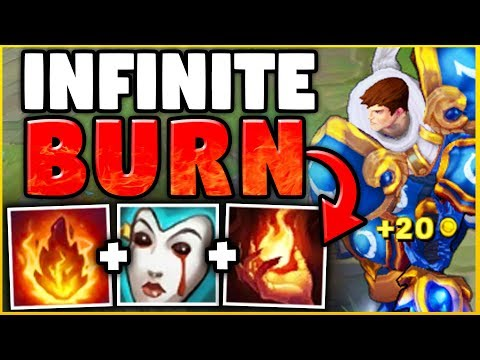 NOBODY CAN ESCAPE THIS GAREN BUILD! UNLIMITED BURN DAMAGE WITH YOUR SPIN! - League of Legends
