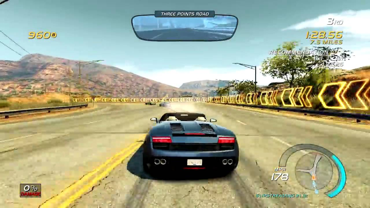 Need For Speed Hot Pursuit Official Gameplay Xbox 360