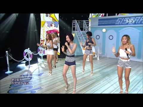 Live HD | 140810 SISTAR - Touch My Body @ SBS Inkigayo