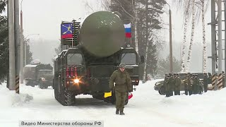 В Москву из Ивановской области выехали одни из участников военного парада - ракетные комплексы «Ярс»