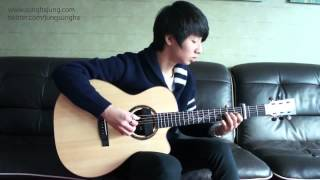 Christina Perri) A Thousand Years   Sungha Jung Acoustic Tabs Guitar Pro 6