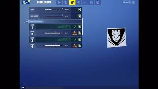 Fortnite Challenges not Working (Pls Help) (Use an X-4 Stormwing in Different Matches)